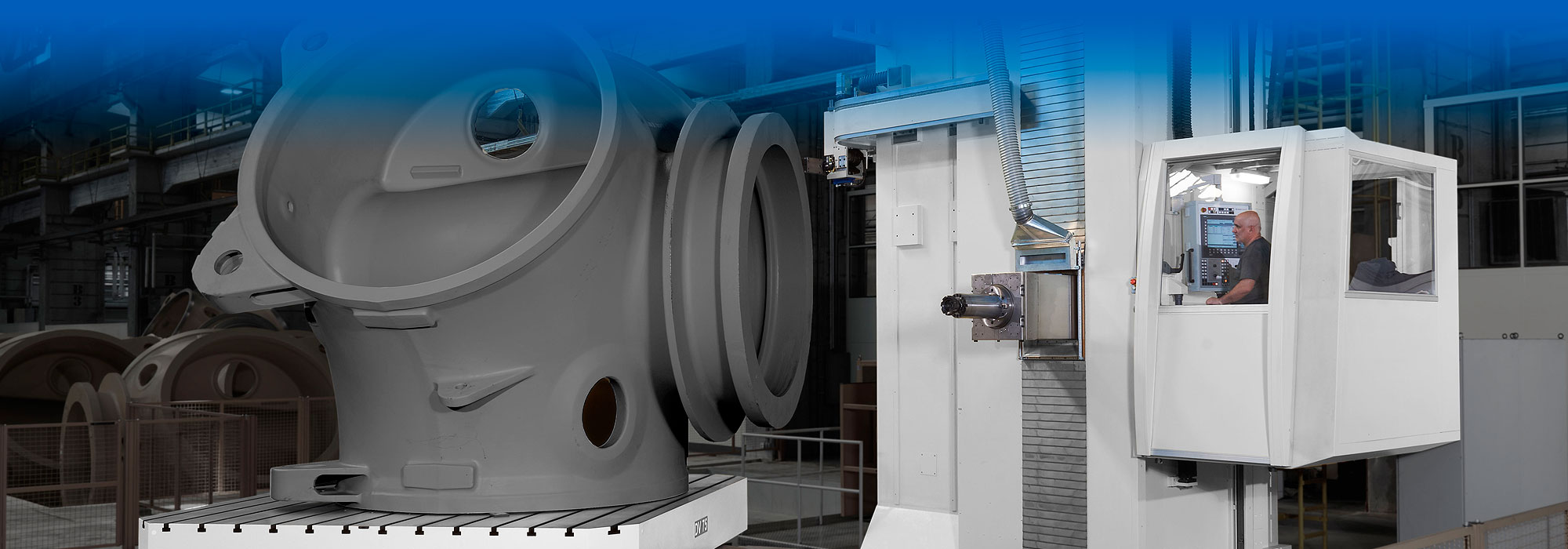 United Precision Services - Horizontal Boring Mills - Vertical & Horizontal Lathes - High Productivity Machining Centers - Multi-Process Machining Centers - 5-Axis Portal Milling Machines